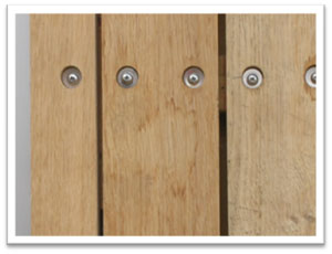 Washers used in cladding installation