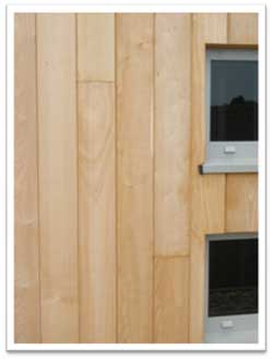 Vertical Boards Of External Cladding