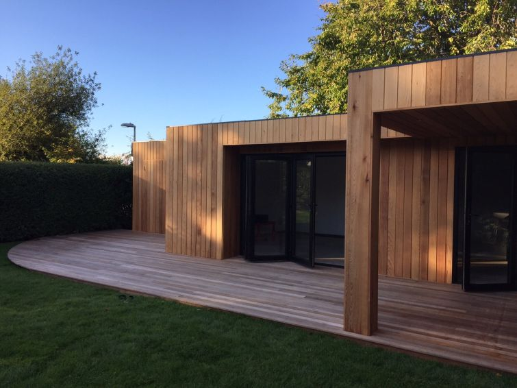 Wonderful ... Western Red Cedar Cladding Garden Room 5