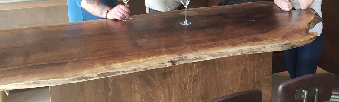 English Walnut Finished Table