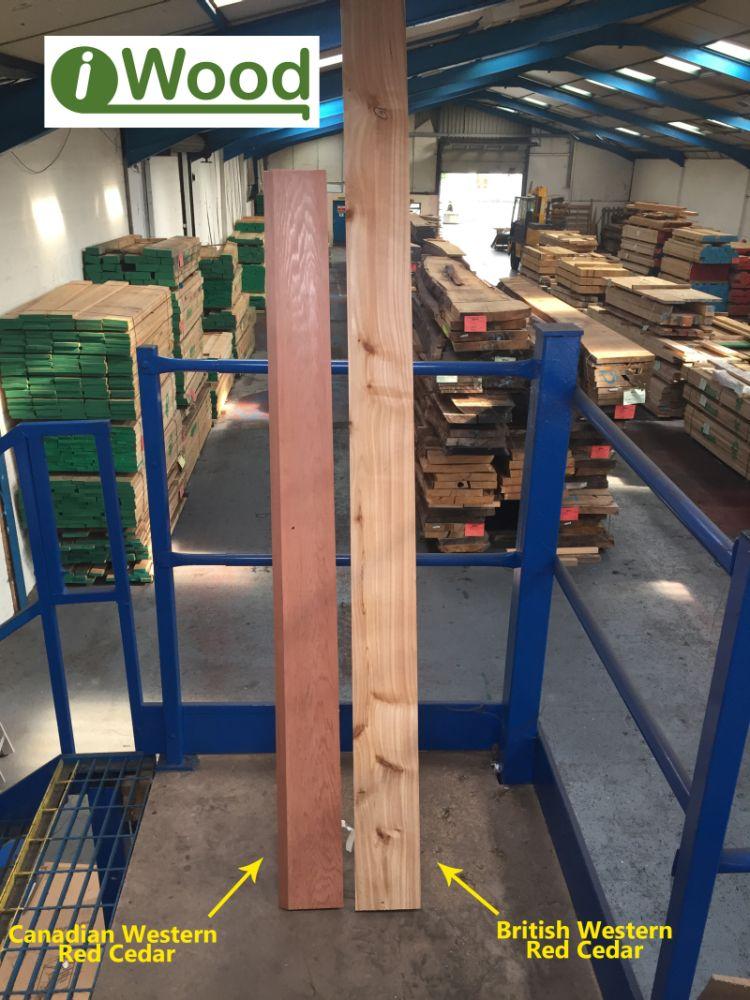 Deciding between cedar cladding
