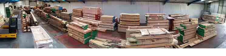 Oak timber specialists banner