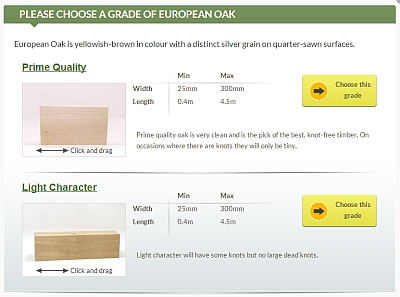 New, interactive 3D timber grade images