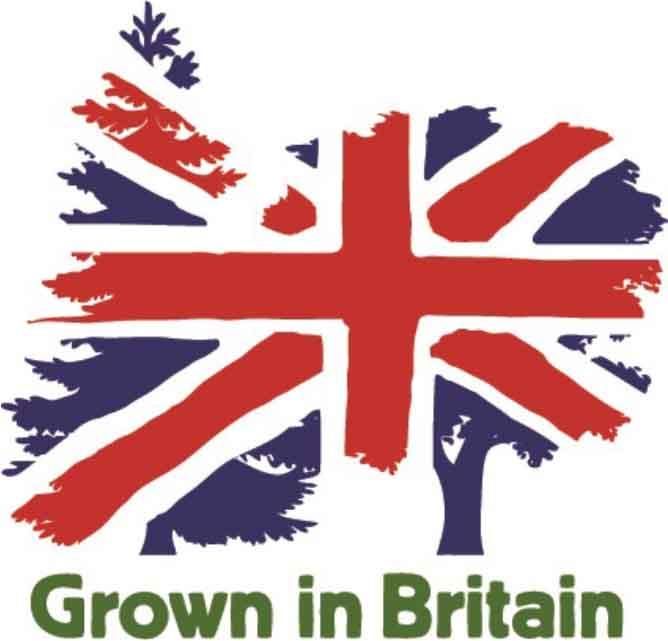 Grown in Britain Logo