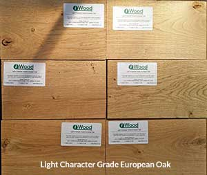 Light Character Oak Examples