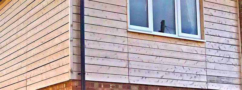 British Western Red Cedar Rainshield timber cladding