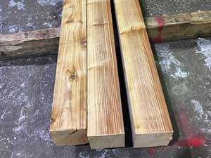 British Cedar Beams