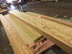 British Larch Beams