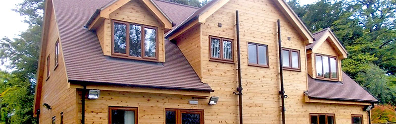 British Larch Tongue and Groove timber cladding