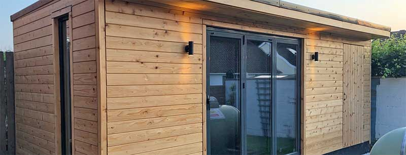 British Western Red Cedar Tongue and Groove timber cladding