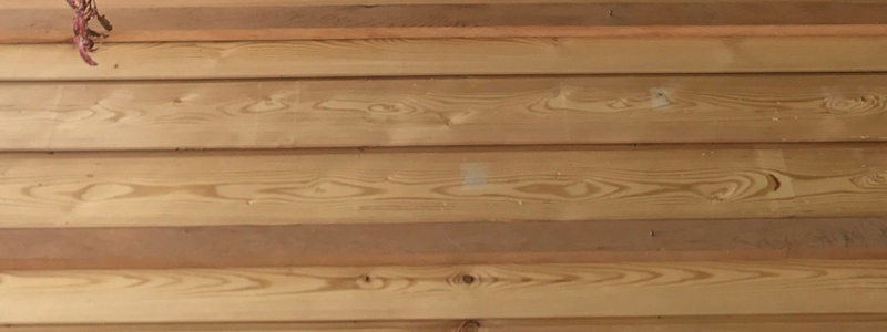 Siberian Larch Tongue and Groove timber cladding