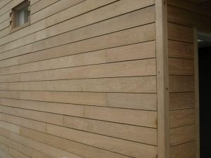Oak cladding at Dover Castle