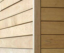 British Larch Timber Cladding Accessories
