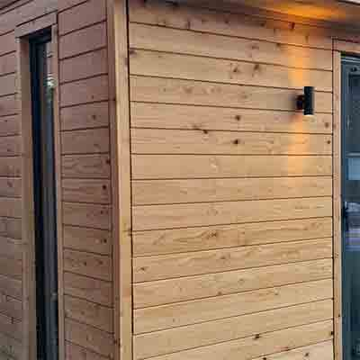 British Larch Timber External Cladding