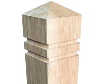 Oak Bollards clickable image