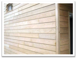 Horizontal External Timber Cladding