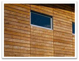Treated External Timber Cladding