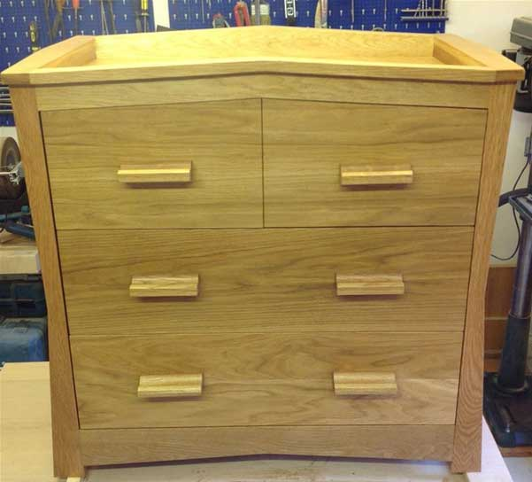 Furniture made from iWood's oak