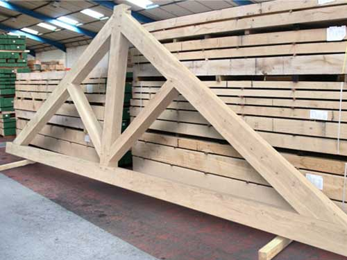 A large Oak Truss