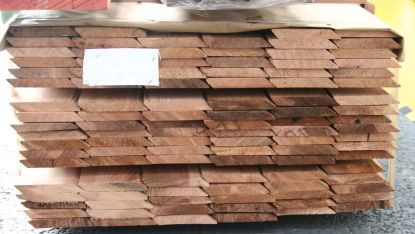 British western red cedar board ends