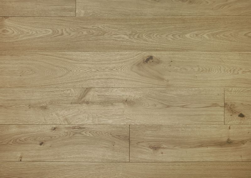 Invisibly Oiled Oak Flooring